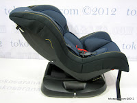 Pliko PK303B Baby Car Seat with Extra Seat Pad - Rear and Forward Facing (0 - 18kg)
