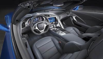 2016 chevrolet cabine intérieure de corvette