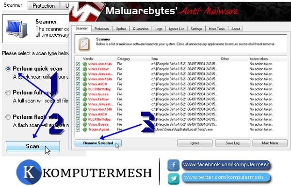 Cara Menghapus Malware dari Komputer Windows
