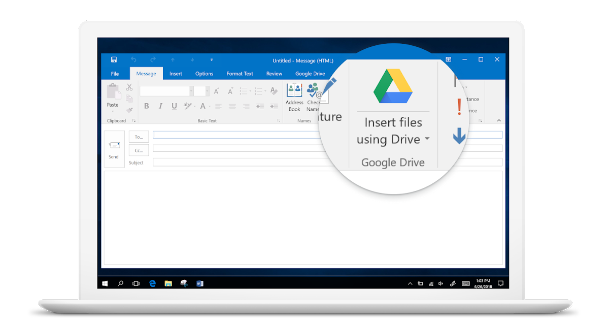 G Suite Updates Blog: Launching new Google Drive / Microsoft