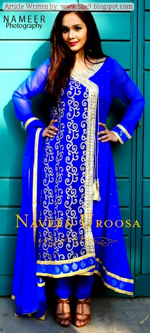 Naveen Uroosa Fancy Dress Collection 2014