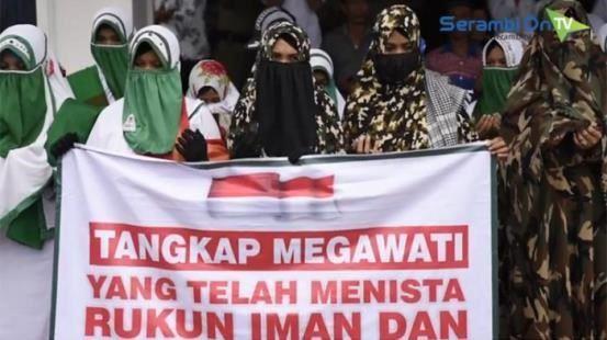 VIDEO Aksi Demo Tangkap Megawati