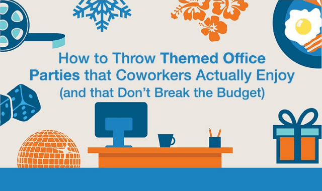 How To Throw Themed Office Parties That Coworkers Actually Enjoy