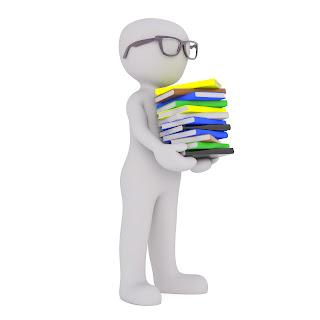 book nerd icon