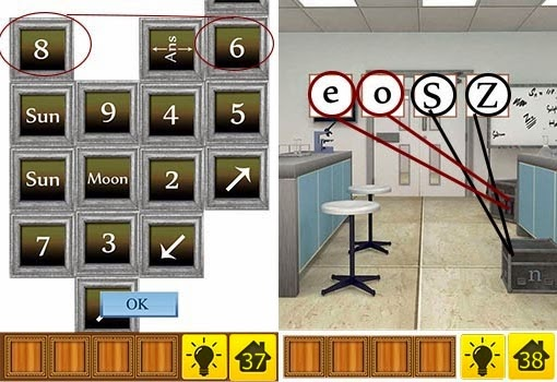100 Doors Brain Teasers 2 Level 36 37 38 39 40 Walkthrough & Best game app walkthrough: 100 Doors Brain Teasers 2 Level 36 37 38 ...