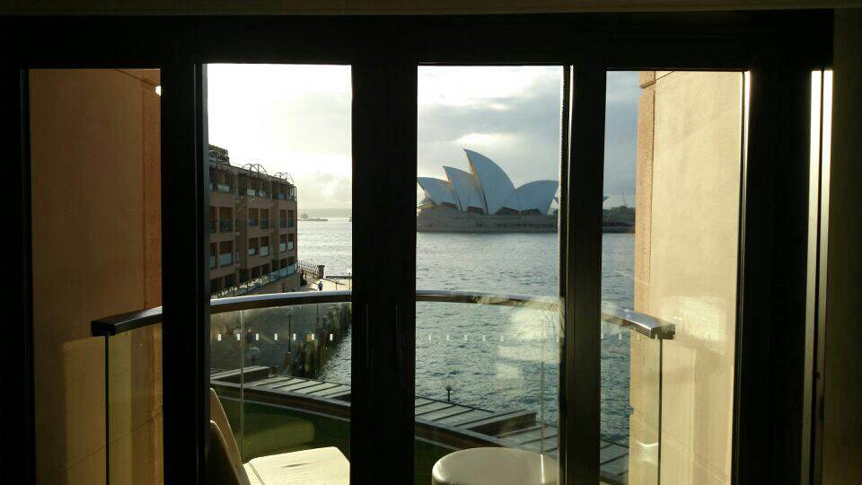 Park Hyatt Sydney room view, Australia, Euriental