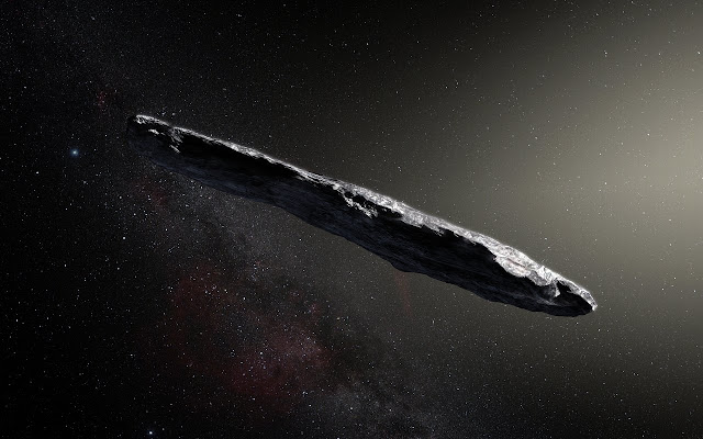 First interstellar asteroid is like nothing seen before