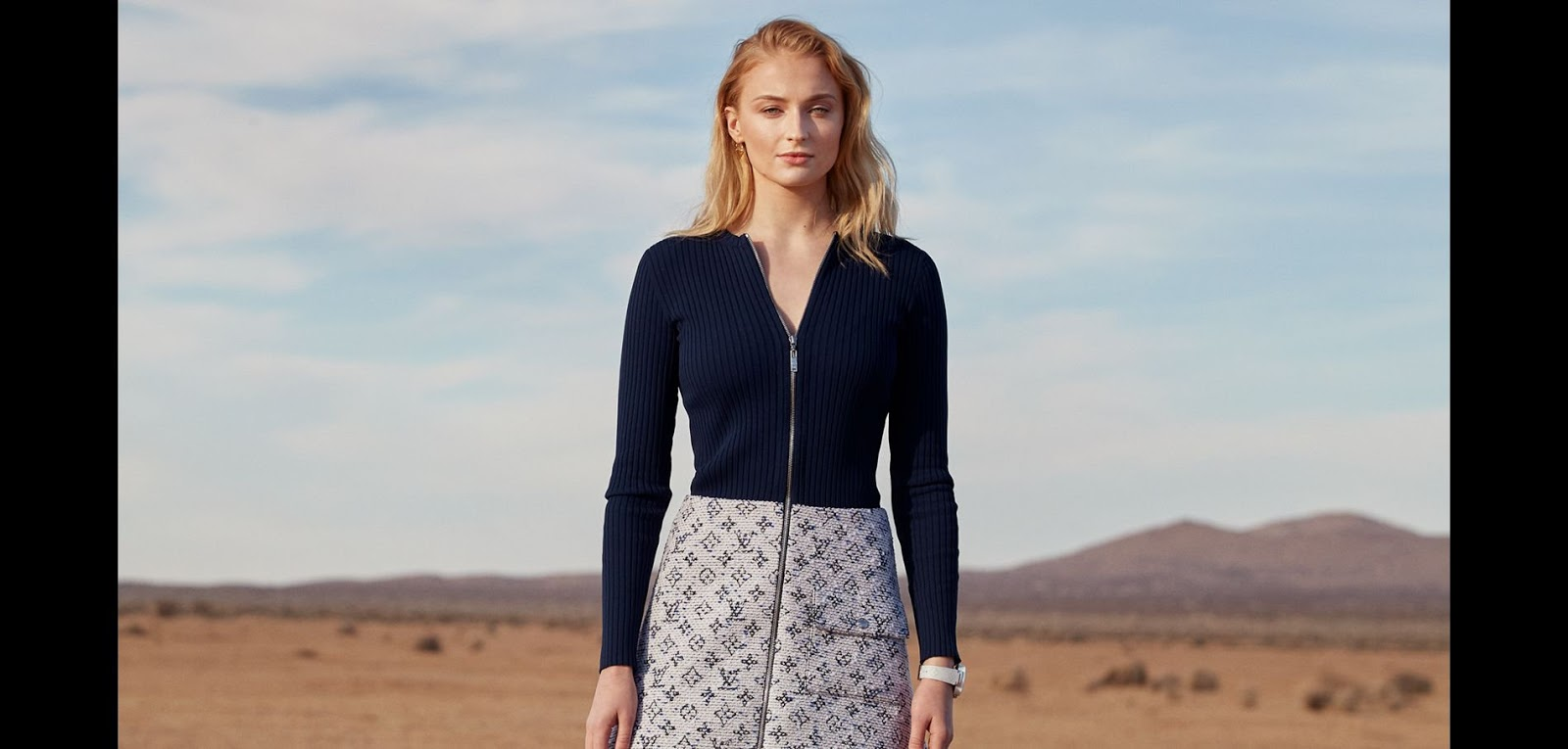 Sophie Turner stars in the new Louis Vuitton campaign
