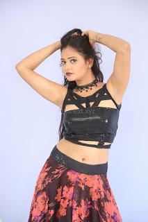 Shriya Vyas in a Tight Backless Sleeveless Crop top and Skirt 77.JPG