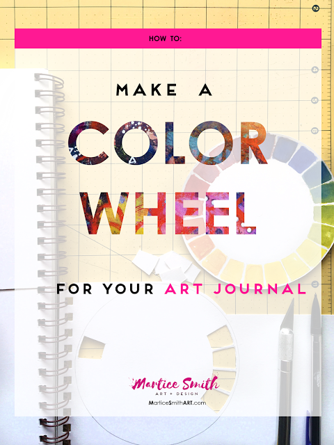 How to Make a Color Wheel for Your Art Journal