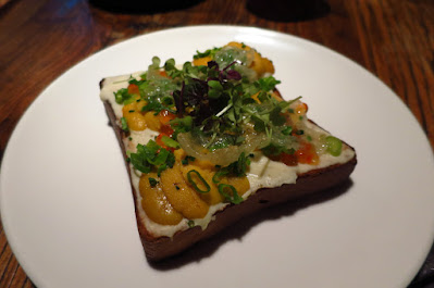 Fish & Meat, sea urchin toast