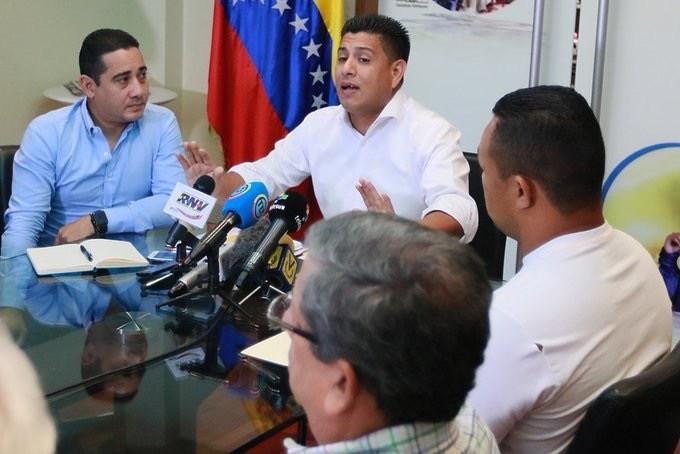 El ministro del Deporte de Venezuela, Pedro Infante.