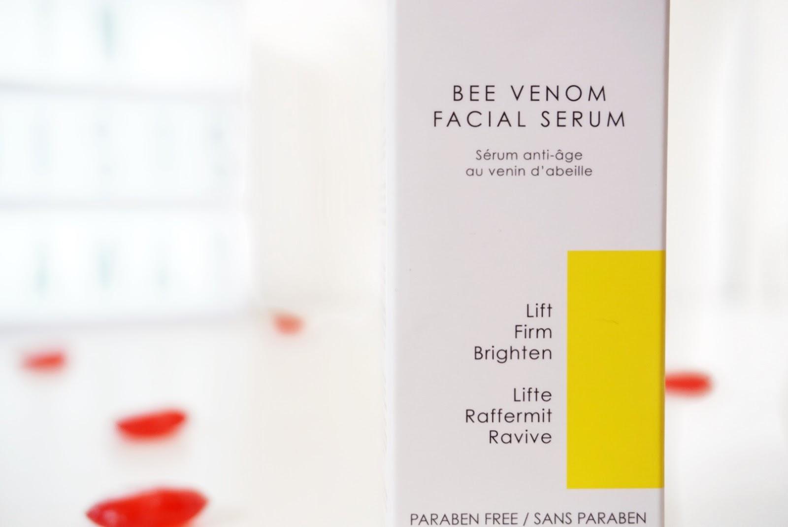 Skinchemists Bee Venom Facial Serum Packaging