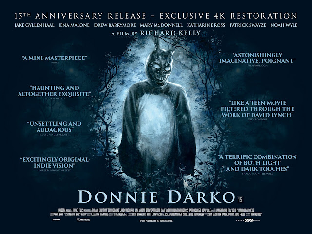 DONNIE DARKO NEW QUAD POSTER