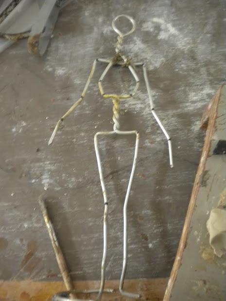 Figure Sculpture Armature