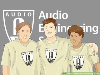 How to Work at a Recording Studio