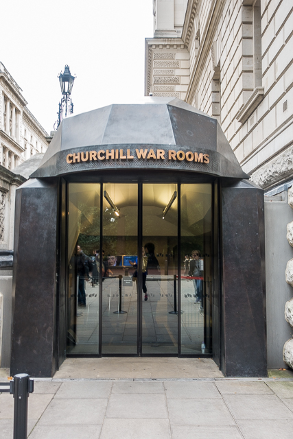 Churchill War Rooms preserved from WWII - London, England