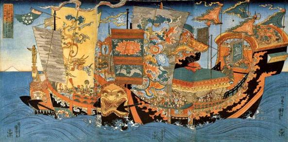La leyenda de Xu Fu en Japón
