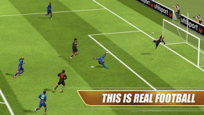 Real Football 2013 v1.6.8b Mod Apk latest ( Mod Unlimited Gold )