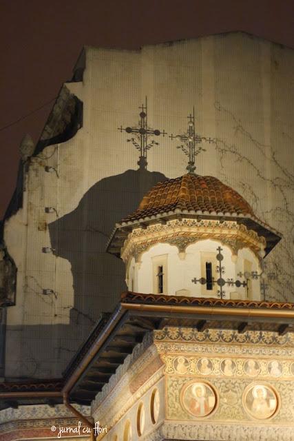 manastirea stavropoleos seara