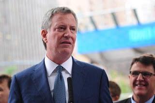 Alcalde de Nueva York se une a protestas contra cumbre del G20