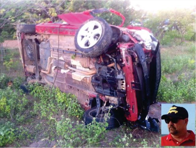 Filho de ex – prefeito de Tanhaçu morre em grave acidente na BA – 407