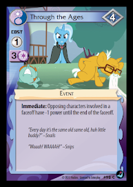 My Little Pony Through the Ages High Magic CCG Card