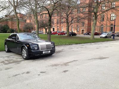 Rolls Royce Phantom Coupe at University of Birmingham Campus