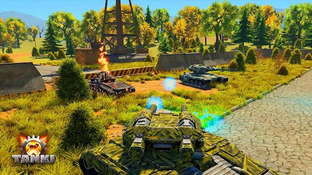 """""""Tanki X"""" Game xe tăng chiến đấu online free 2016"""