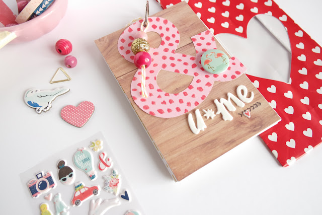 San Valentino 2017 | scrapbooking mini album www.kkushi.com