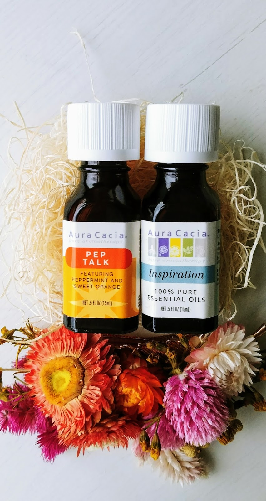 Aura Cacia Essential Oils for the winter