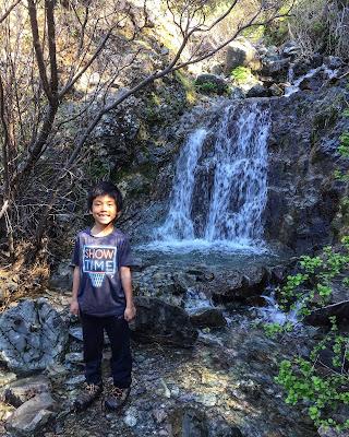Mt. Diablo Falls Trail Loop waterfall