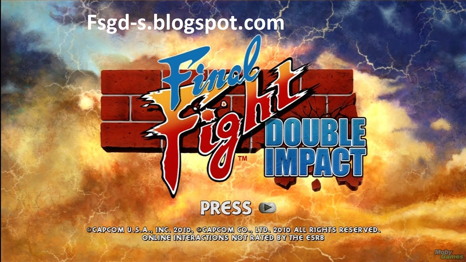 PC Games Download: Final Fight Game Pc