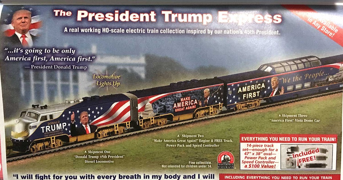 Daughter Number Three: Your Very Own Trump Train