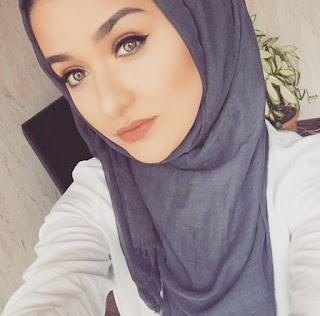 خلفيات بنات محجبات روعة للفيس بوك 2019