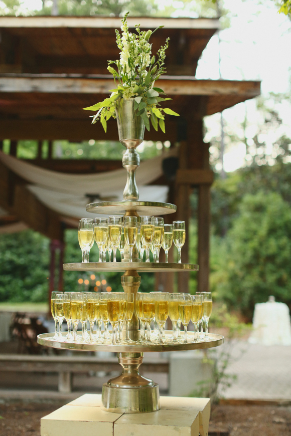 Champagne Tower (Photo: J. Woodbery Photography)