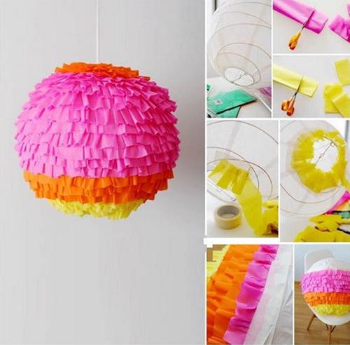 esfera decorativa para fiesta de carnaval