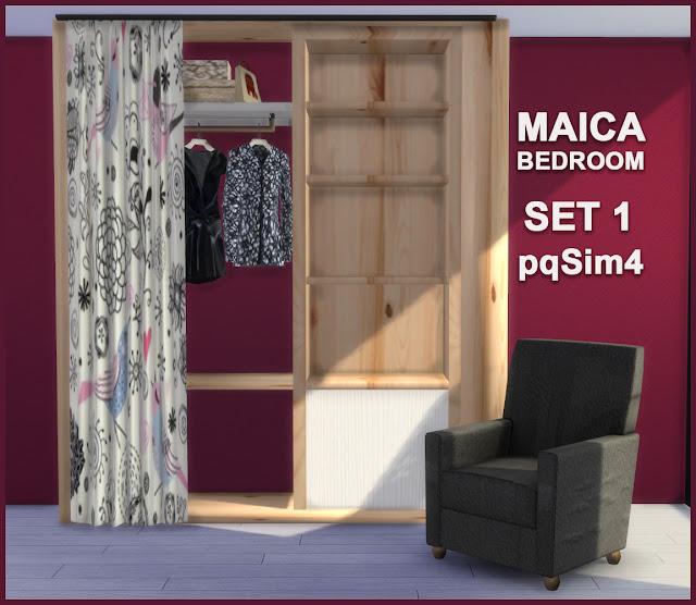 Armario y sillón Maica 11
