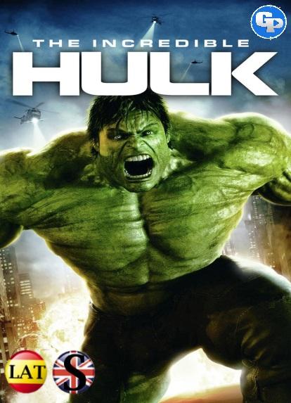 El Increíble Hulk (2008) HD 1080P LATINO/INGLES