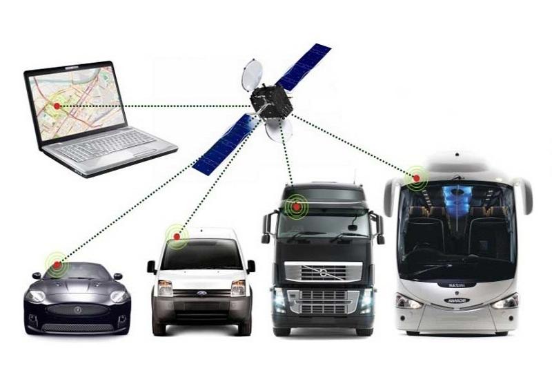 Спутниковый контроль перемещения транспорта
