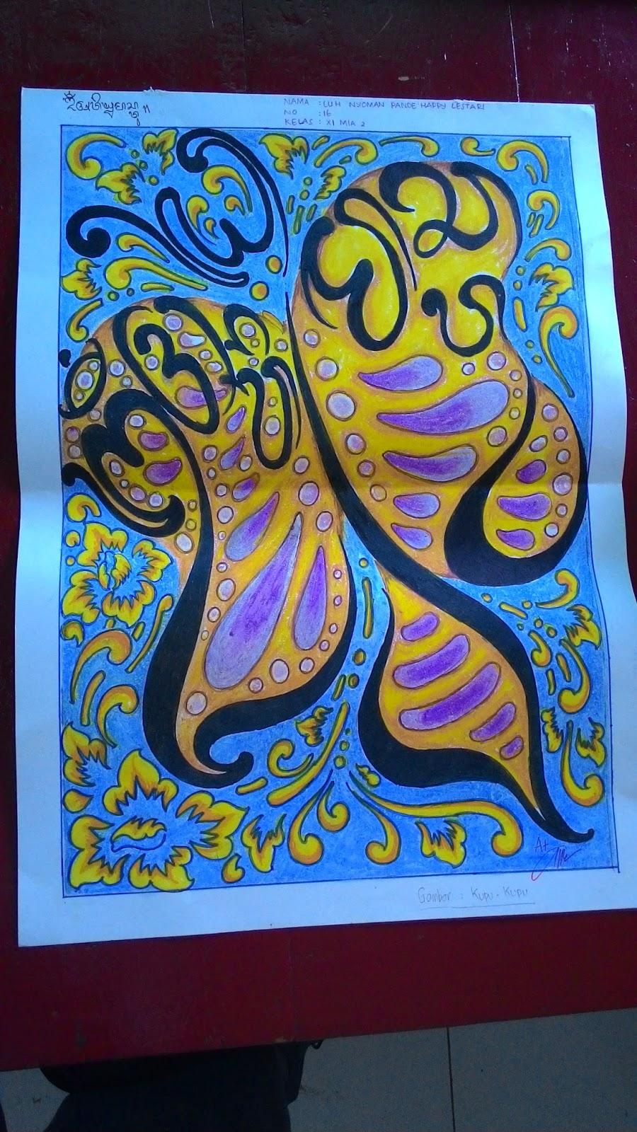 Kaligrafi Indah Aksara Daerah Koas Kaos Jawi