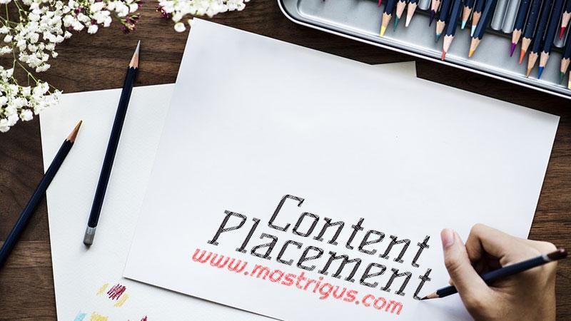 Mendapatkan Penghasilan Tambahan Blog Dari Content Placement