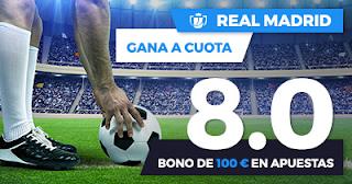 Paston Megacuota Copa del Rey: Fuenlabrada vs Real Madrid 26 octubre
