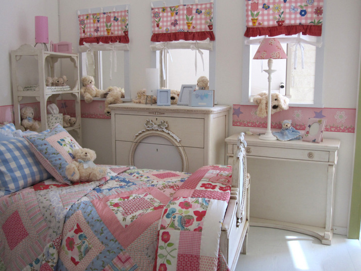 Lindos dormitorios para ni as en color pastel ideas para - Como amueblar un dormitorio pequeno ...
