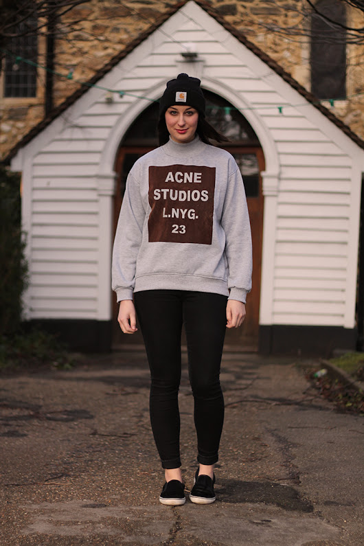 Steffani Louise - A UK Fashion And Style Blog : Outfit | ACNE (the good kind)