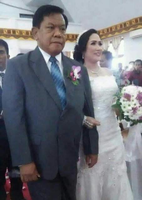 Acara Pernikahan Rektor UKI Toraja Banjir Ucapan Selamat