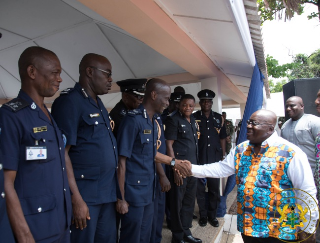"""""""Support Passage And Enforce Vigilante Law"""" – President Akufo-Addo To Police"""