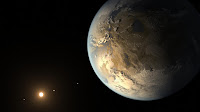 Artist's impression of the First Earth-size Planet in the Habitable Zone Kepler-186f