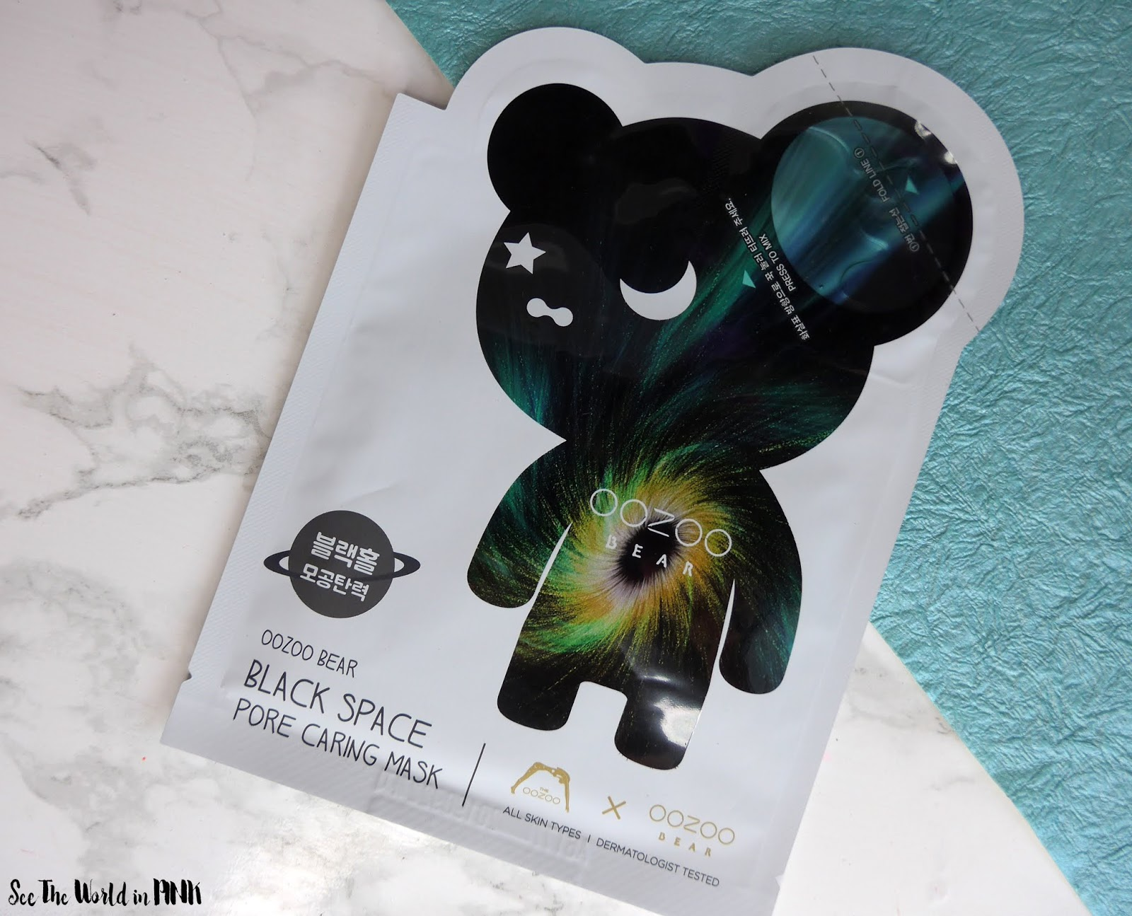 Mask Review - The OOZOO Bear Black Space Pore Caring Mask