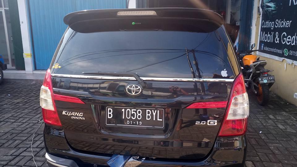 jasa pasang kaca film Masterpiece untuk mobil Toyota Fortuner